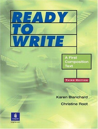 Ready to Write 9780130424631