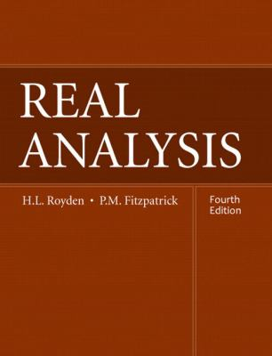 Real Analysis - 4th Edition