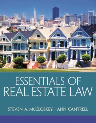 Real Estate Law for Legal Professionals 9780135114285