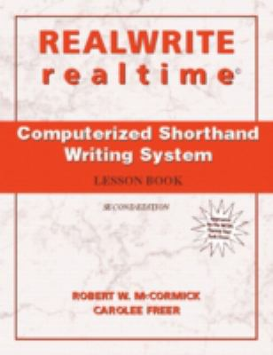 Realwrite/Realtime Computerized Shorthand Writing 9780131180529