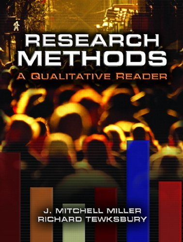 Research Methods: A Qualitative Reader 9780131690257