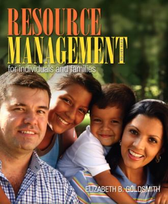 Resource Management for Individuals and Families 9780132955140