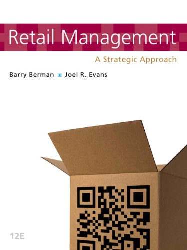 Retail Management: A Strategic Approach 9780132720823