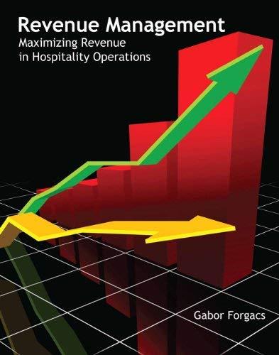 Revenue Management (Ahlei) 9780133108439