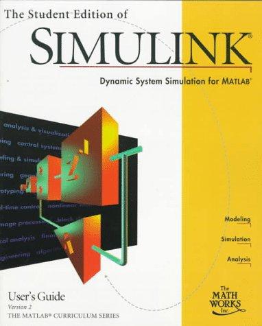 SIMULINK V2 Documentation 9780136596998