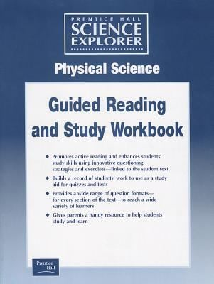 Science Explorer Physcial Science Guided Study Worksheets 2001c 9780130440020