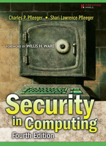 Security in Computing 9780132390774