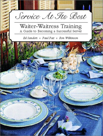 Service at Its Best: Waiter-Waitress Training