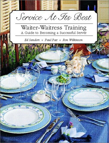 Service at Its Best: Waiter-Waitress Training 9780130926265