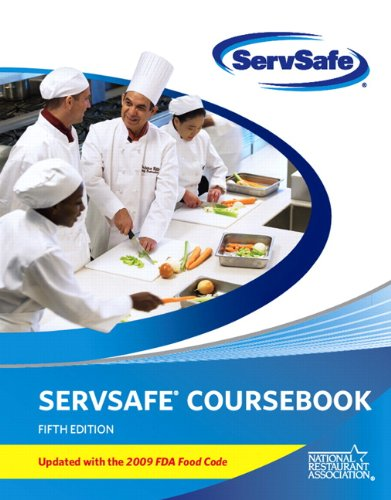 ServSafe Coursebook: Updated with the 2009 FDA Food Code 9780135107331
