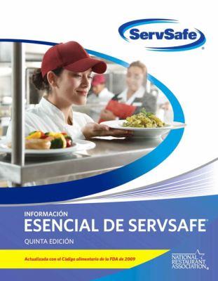 ServSafe Informacion Esencial de Servsafe: Actualizada Con El Codigo Alimentario de La FDA de 2009 9780135107379