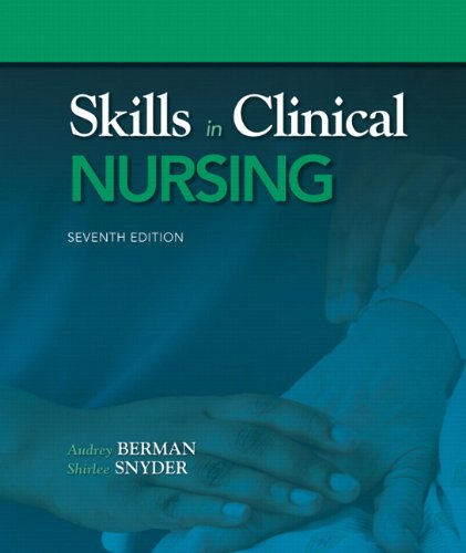Skills in Clinical Nursing 9780132149648