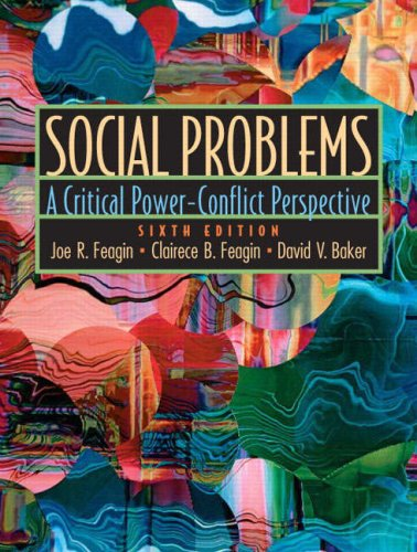 Social Problems: A Critical Power-Conflict Perspective 9780130999276
