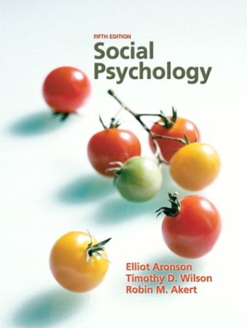Social Psychology - 5th Edition