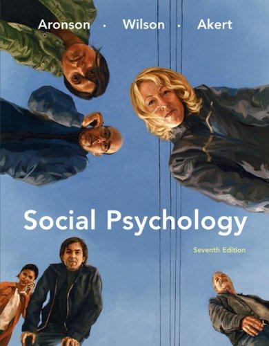Social Psychology 9780138144784
