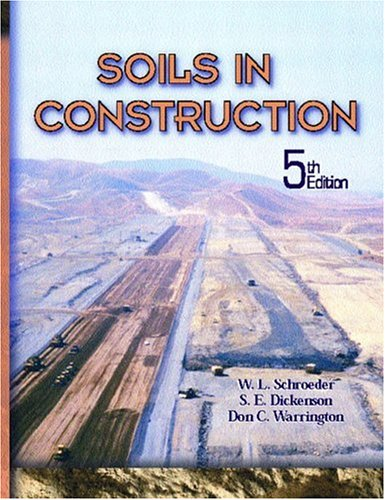 Soils in Construction 9780130489173