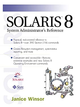 Solaris 8 System Administrator's Reference 9780130277015