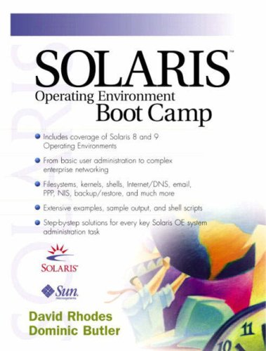 Solaris Operating Environment Boot Camp 9780130342874