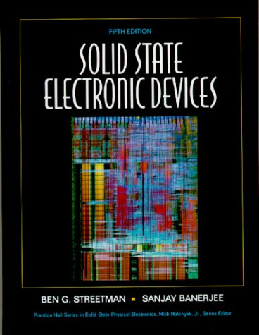 Solid State Electronic Devices 9780130255389