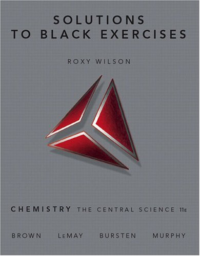 Solutions to Black Exercises 9780136003243