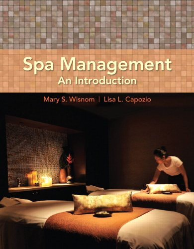 Spa Management: An Introduction 9780135039441
