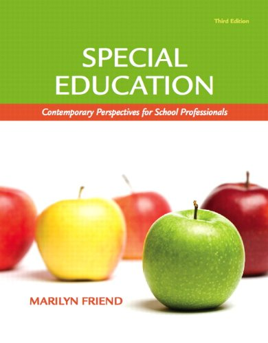 Special Education: Contemporary Perspectives for School Professionals 9780137033270
