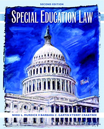 Special Education Law 9780131175716