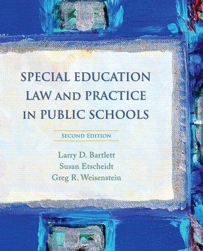 Special Education Law and Practice in Public Schools 9780132207140