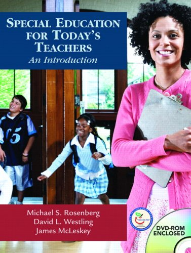 Special Education for Today's Teachers: An Introduction [With CDROM and Online Access Code] 9780131185609