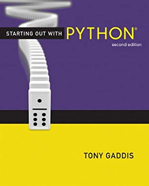 Starting Out with Python [With Access Code] 9780132576376