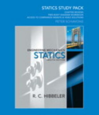 Statics Study Pack for Engineering Mechanics: Statics 9780136091837