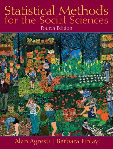 Statistical Methods for the Social Sciences 9780130272959
