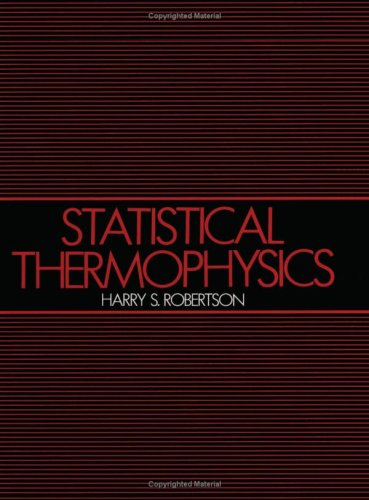 Statistical Thermophysics 9780138456030