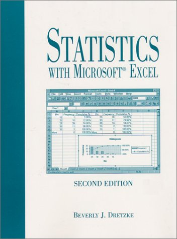 Statistics with Excel 9780130223579