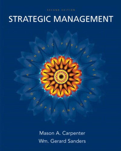 Strategic Management: Concepts and Cases and Mymanagementlab with eBook Package 9780136079309