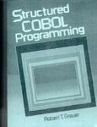 Structured COBOL Programming 9780138542177
