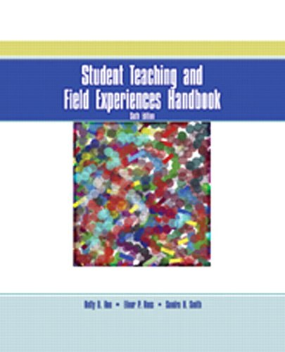 Student Teaching and Field Experiences Handbook 9780131198852