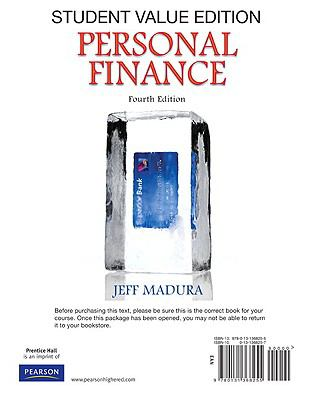 Personal Finance: Student Value Edition 9780131368255