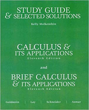Study Guide and Selected Solutions 9780131919679