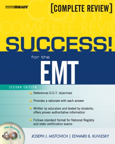 Success! for the EMT: Complete Review [With CDROM] 9780132253963