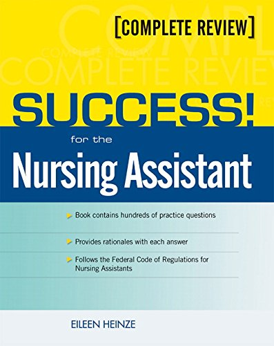 Success! for the Nursing Assistant: A Complete Review [With CDROM] 9780131144941