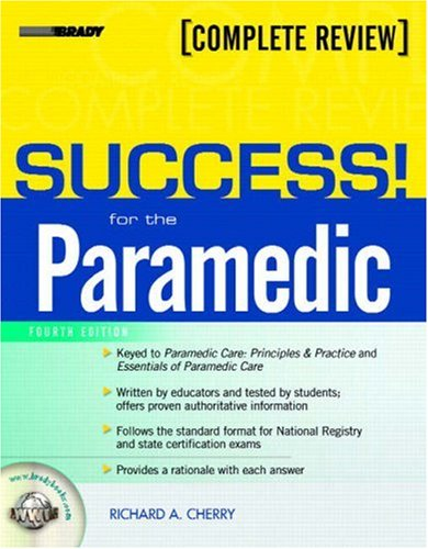 Success! for the Paramedic 9780132385503