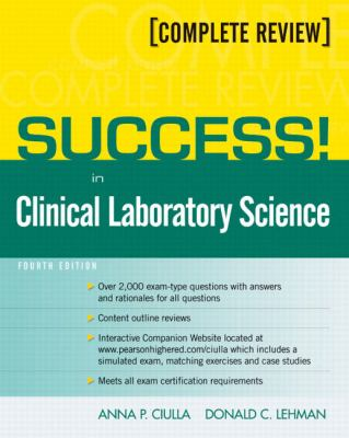 Success! in Clinical Laboratory Science 9780135126486