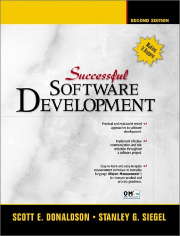Successful Software Development 9780130868268