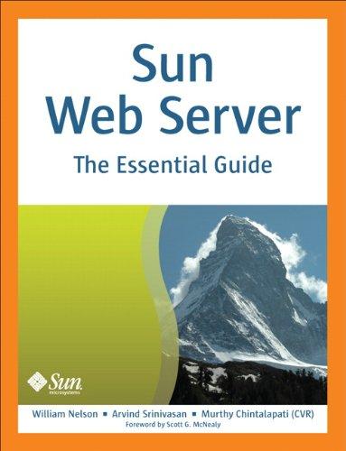 Sun Web Server: The Essential Guide 9780137128921