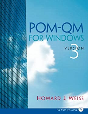 POM - Qm V 3 for Windows Manual 9780132217729
