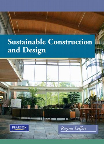 Sustainable Construction and Design [With DVD] 9780135027288