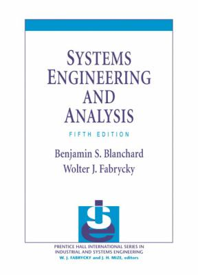 Systems Engineering and Analysis 9780132217354