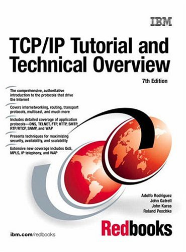 TCP/IP Tutorial & Technical Overview 9780130676108