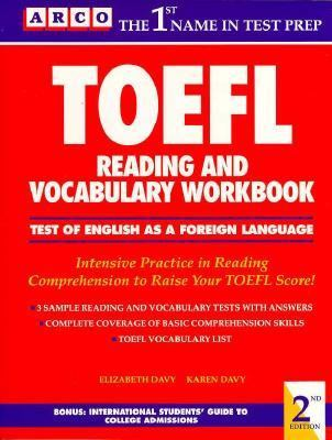 TOEFL Reading and Vocabulary Workbook 9780139269653